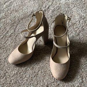 BCBG Generation Strappy Chunky Heel